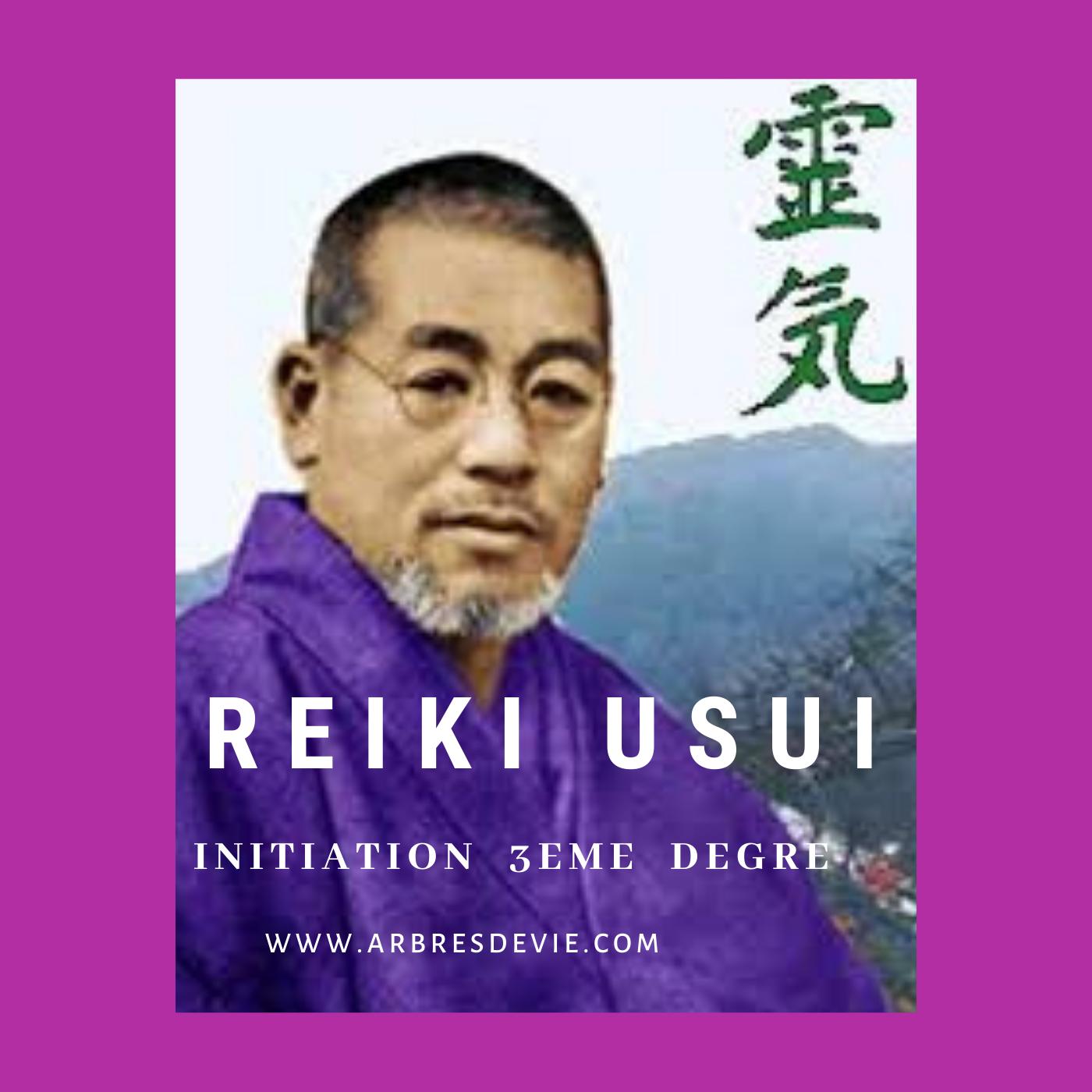 Reiki Usui 3ème degré – 2 et 3 OCTOBRE 2021 – Vendée (85480)